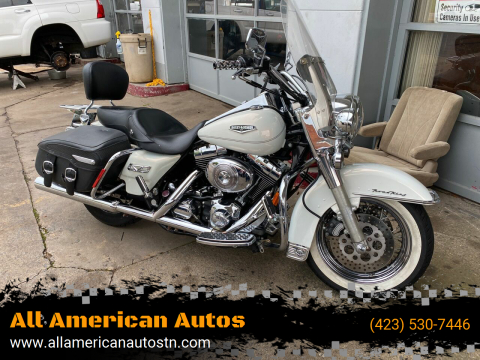 2002 HarleyDavidson FLHRCI (Road King Classic) for sale at All American Autos in Kingsport TN