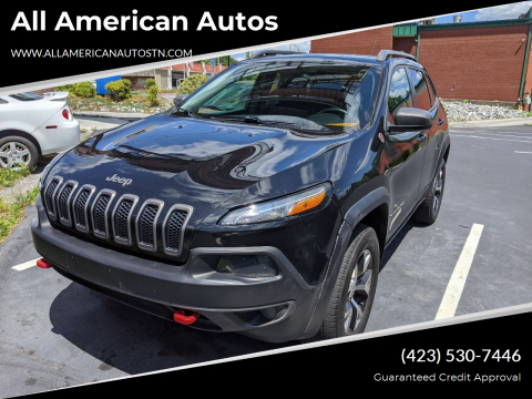 2014 Jeep Cherokee for sale at All American Autos in Kingsport TN