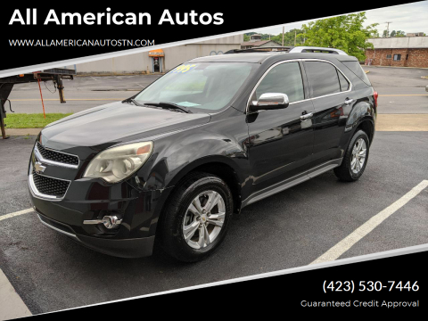 2011 Chevrolet Equinox for sale at All American Autos in Kingsport TN