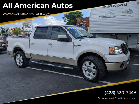 2007 Ford F-150 for sale at All American Autos in Kingsport TN