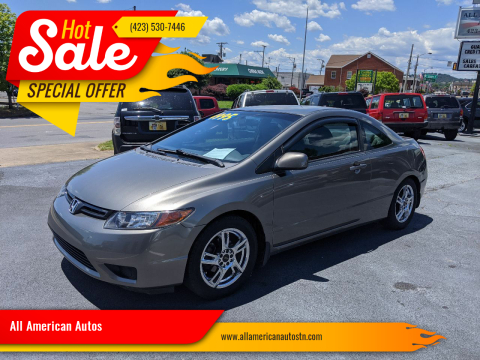 2007 Honda Civic for sale at All American Autos in Kingsport TN