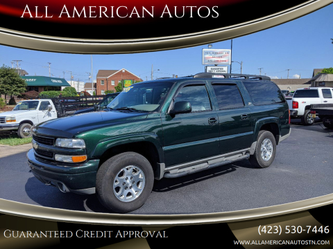 2003 Chevrolet Suburban for sale at All American Autos in Kingsport TN