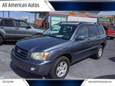 2005 Toyota Highlander for sale at All American Autos in Kingsport TN
