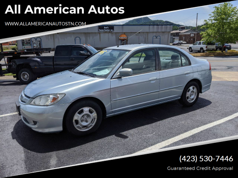 2004 Honda Civic for sale at All American Autos in Kingsport TN