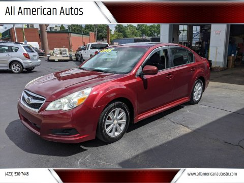 2011 Subaru Legacy for sale at All American Autos in Kingsport TN