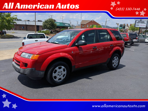 2003 Saturn Vue for sale at All American Autos in Kingsport TN