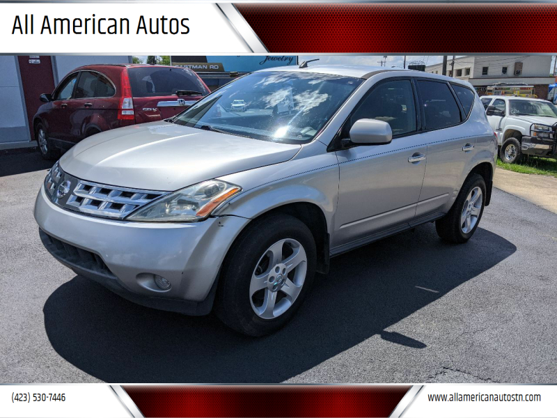2004 Nissan Murano for sale at All American Autos in Kingsport TN
