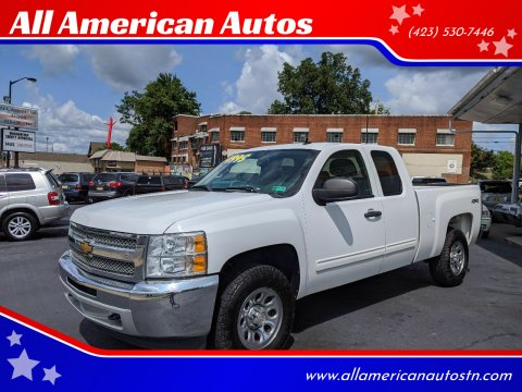 2013 Chevrolet Silverado 1500 for sale at All American Autos in Kingsport TN