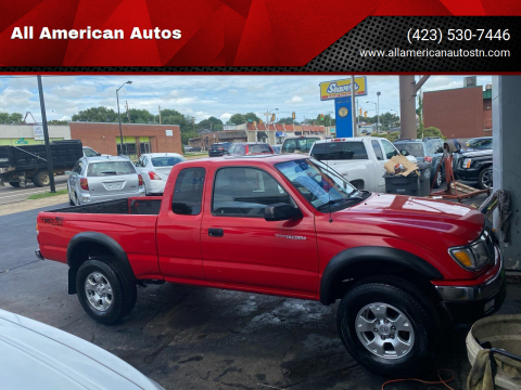 2002 Toyota Tacoma for sale at All American Autos in Kingsport TN