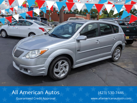 2006 Pontiac Vibe for sale at All American Autos in Kingsport TN