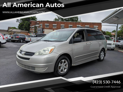 2004 Toyota Sienna for sale at All American Autos in Kingsport TN