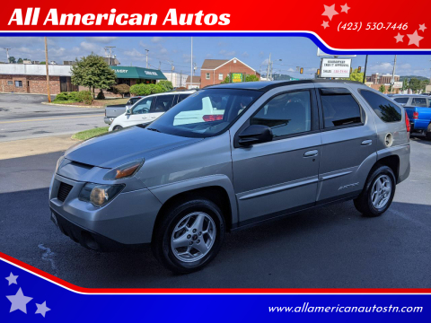 2004 Pontiac Aztek for sale at All American Autos in Kingsport TN