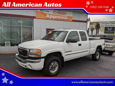 2005 GMC Sierra 2500HD for sale at All American Autos in Kingsport TN