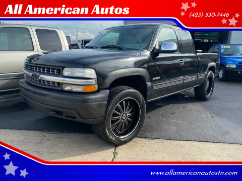 2001 Chevrolet Silverado 1500 for sale at All American Autos in Kingsport TN