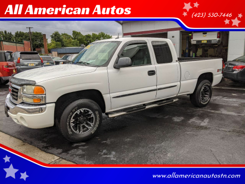 2004 GMC Sierra 1500 for sale at All American Autos in Kingsport TN