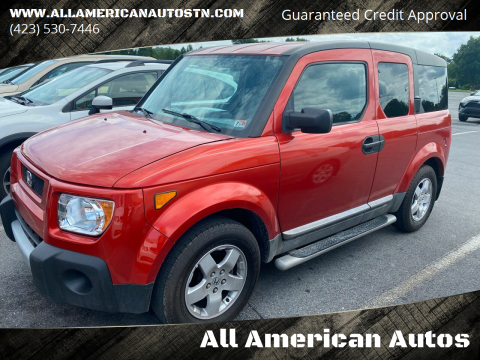 2004 Honda Element for sale at All American Autos in Kingsport TN