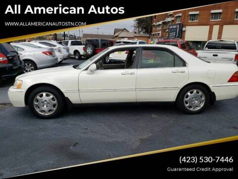 2000 Acura RL for sale at All American Autos in Kingsport TN