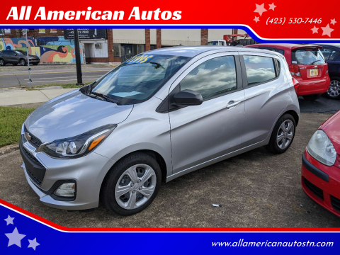2019 Chevrolet Spark for sale at All American Autos in Kingsport TN
