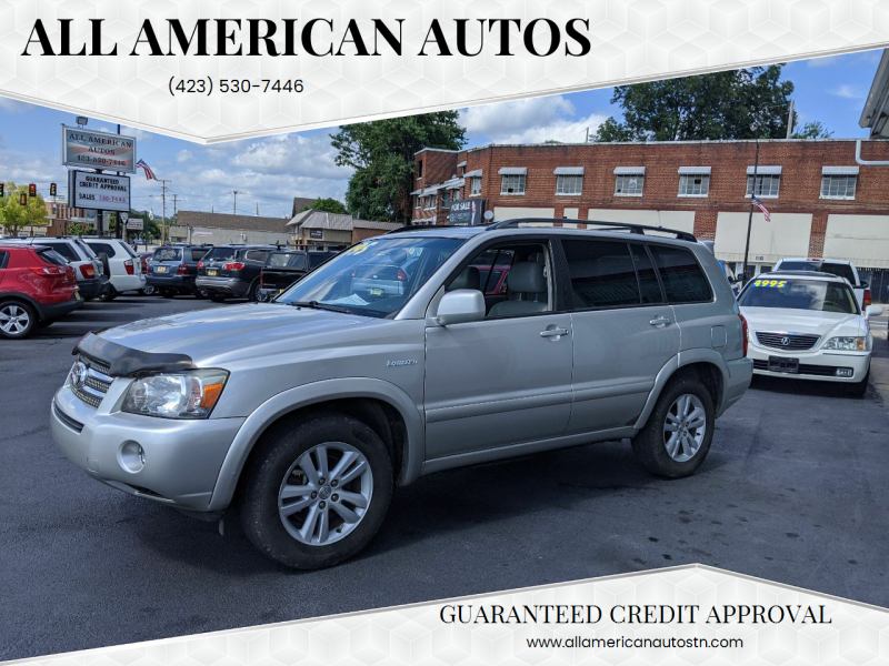 2006 Toyota Highlander Hybrid for sale at All American Autos in Kingsport TN