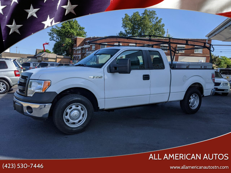 2014 Ford F-150 for sale at All American Autos in Kingsport TN
