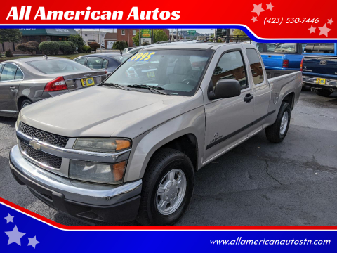 2004 Chevrolet Colorado for sale at All American Autos in Kingsport TN