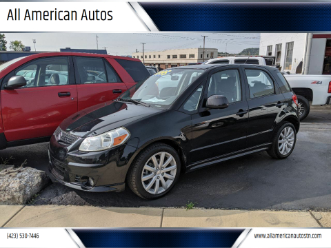 2010 Suzuki SX4 Sportback for sale at All American Autos in Kingsport TN