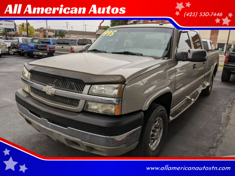2003 Chevrolet Silverado 2500HD for sale at All American Autos in Kingsport TN