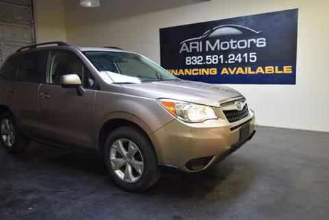 2016 Subaru Forester for sale in Houston, TX