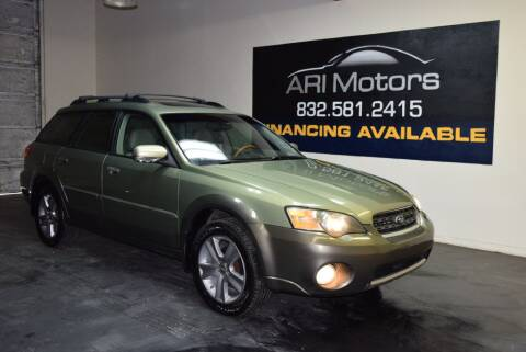 2005 Subaru Outback 3.0 R L.L.Bean Edition for sale at ARI Motors in Houston TX