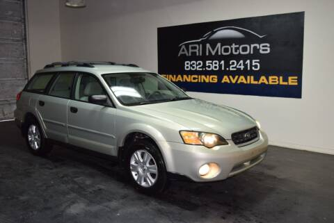 2005 Subaru Outback 2.5i for sale at ARI Motors in Houston TX