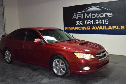2009 Subaru Legacy 2.5 GT Limited for sale at ARI Motors in Houston TX