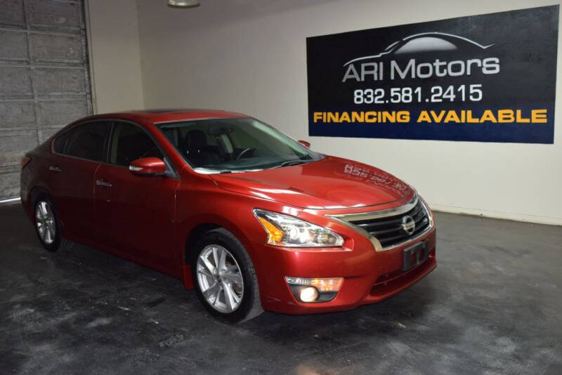 2013 Nissan Altima for sale at ARI Motors in Houston TX