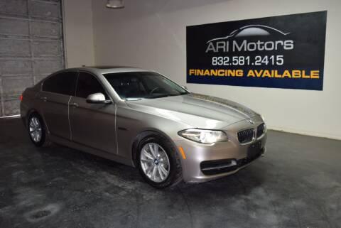 2014 BMW 5 Series for sale at ARI Motors in Houston TX