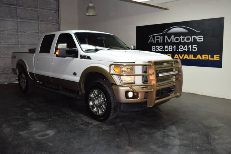 2012 Ford F-250 Super Duty for sale at ARI Motors in Houston TX