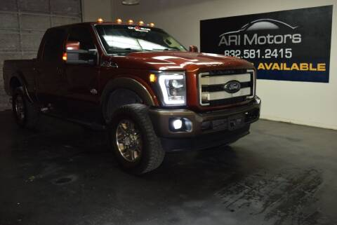 2015 Ford F-350 Super Duty for sale at ARI Motors in Houston TX