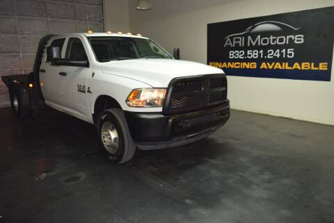 2017 RAM Ram Chassis 3500 for sale at ARI Motors in Houston TX