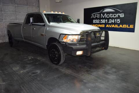 2012 RAM Ram Pickup 3500 for sale at ARI Motors in Houston TX