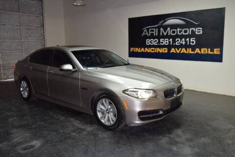 2014 BMW 5 Series for sale at ARI Motors in Houston TX