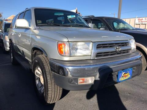 2000 Toyota 4Runner for sale at New Wave Auto Brokers & Sales in Denver CO