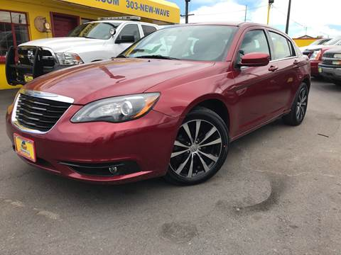 2014 Chrysler 200 for sale at New Wave Auto Brokers & Sales in Denver CO