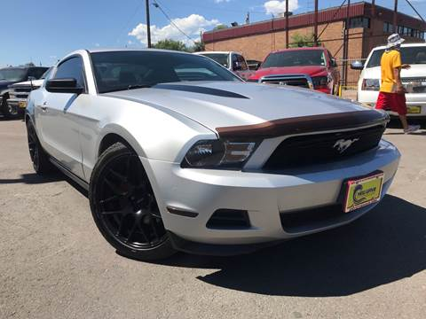 2012 Ford Mustang for sale at New Wave Auto Brokers & Sales in Denver CO