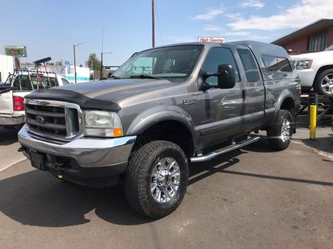 2002 Ford F-250 Super Duty for sale at New Wave Auto Brokers & Sales in Denver CO
