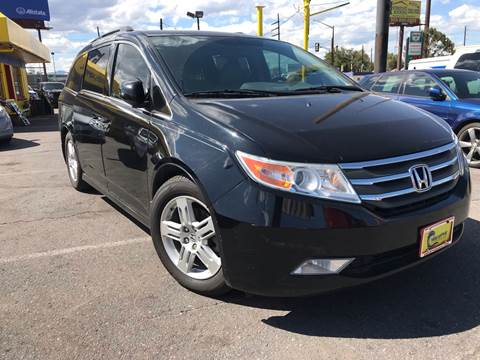 2012 Honda Odyssey for sale at New Wave Auto Brokers & Sales in Denver CO