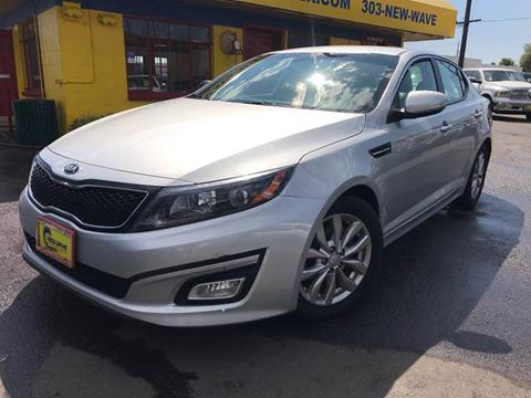 2014 Kia Optima for sale at New Wave Auto Brokers & Sales in Denver CO