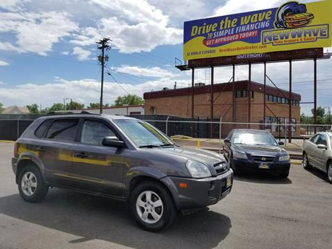 2007 Hyundai Tucson for sale at New Wave Auto Brokers & Sales in Denver CO