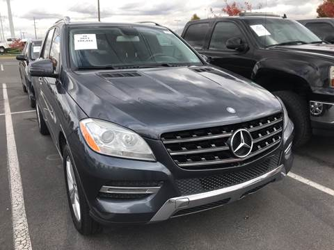 2013 Mercedes-Benz M-Class for sale at New Wave Auto Brokers & Sales in Denver CO