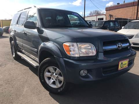 2006 Toyota Sequoia for sale at New Wave Auto Brokers & Sales in Denver CO