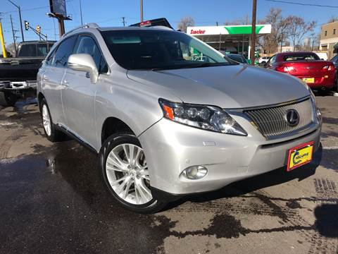 2010 Lexus RX 450h for sale at New Wave Auto Brokers & Sales in Denver CO