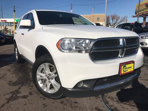 2013 Dodge Durango for sale at New Wave Auto Brokers & Sales in Denver CO