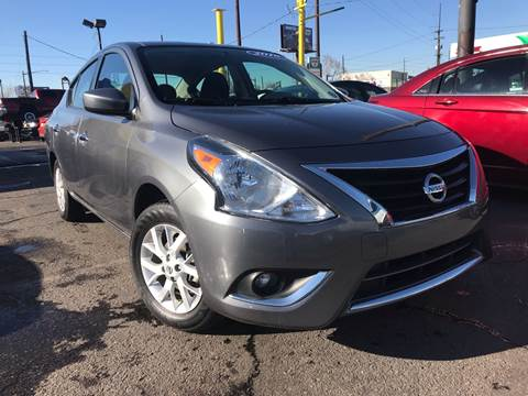 2018 Nissan Versa for sale at New Wave Auto Brokers & Sales in Denver CO
